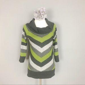 IZ BYER CALIFORNIA Cowl Neck Sweater (XL)